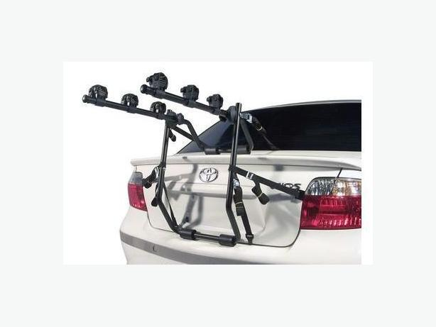 3 Bike Trunk Car Rack