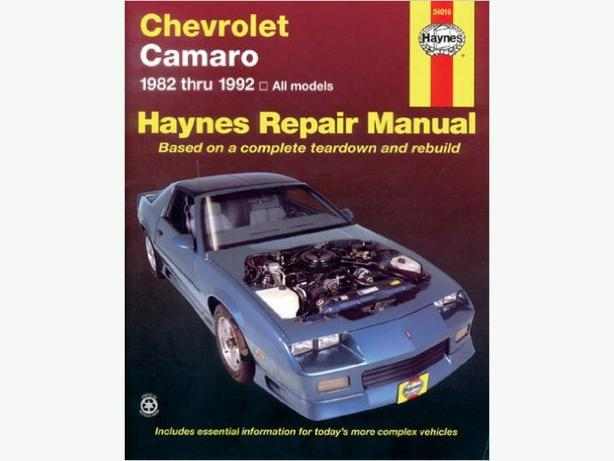 CAMARO  HAYNES MANUAL