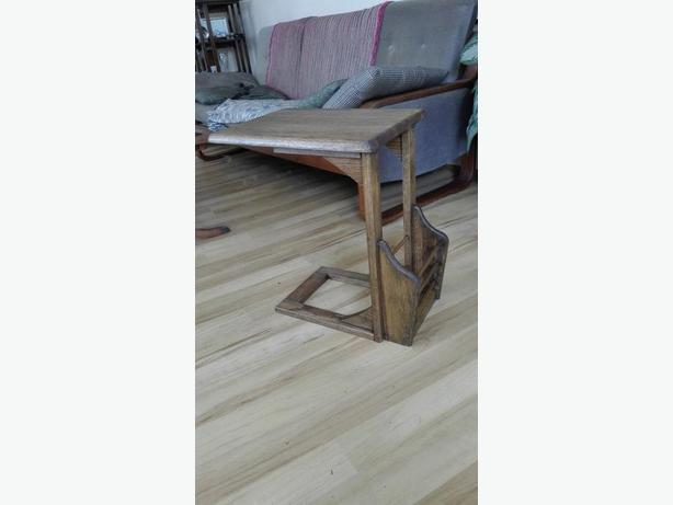 End table magazine rack west shore langford colwood for 13 a table magasin