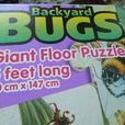 Backyard BUGS Giant Floor Puzzle