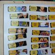 Magnetic Wooden Responsibility Chart - Chore Chart