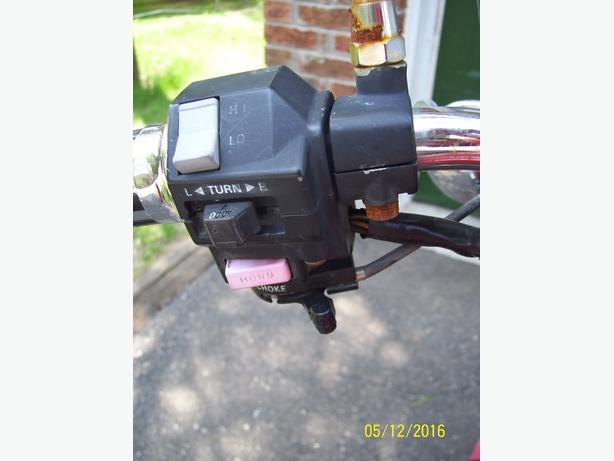 Yamaha Virago Maxim X V Star turn signal switch hi low control switch