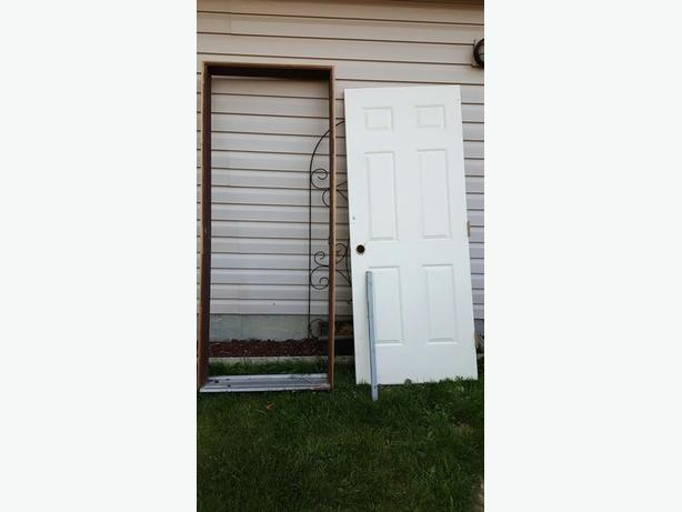 32 Steel Exterior Door And Frame North Regina Regina
