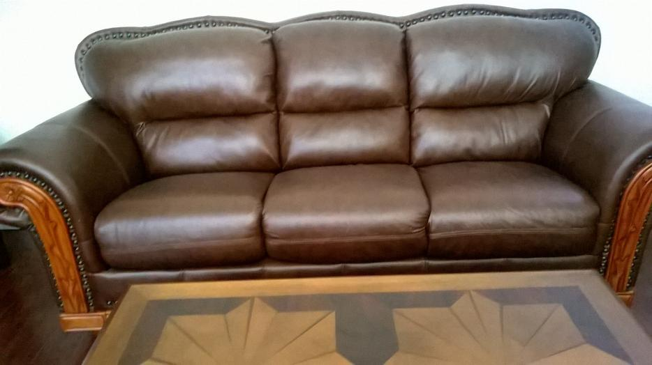 Ashley Leather Sofa Loveseat Chair Lotsa Other