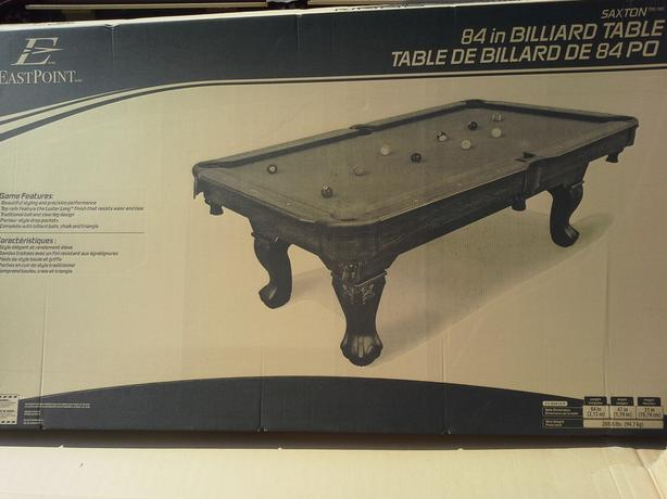 Saxton X Pool Table Top Only Damaged West Regina Regina - Pool table top only