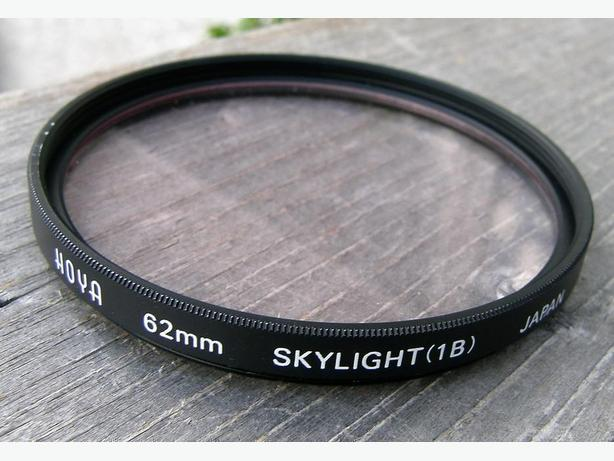 HOYA 62mm Skylight (1B) CAMERA LENS FILTER VGC