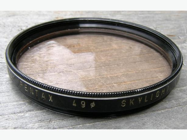 ASAHI PENTAX 49mm Skylight CAMERA LENS FILTER VGC