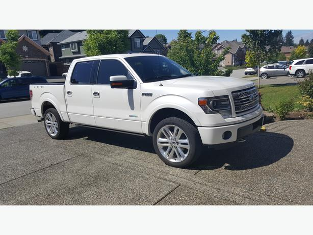 2014 ford f 150 limited v6 eco boost white low km 39 s 50999 surrey incl white rock surrey. Black Bedroom Furniture Sets. Home Design Ideas