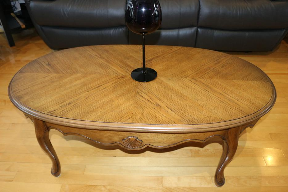 Coffee table plus two end tables rockland ottawa for Coffee tables kelowna