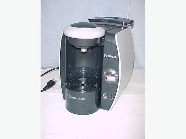 Bosch Coffee Maker Filter : Bosch Tassimo Single Serving Coffee Maker~Model TAS1000 U/C Ladysmith, Cowichan - MOBILE