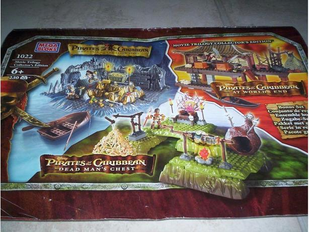 Pirates of the Carribean Movie Trilogy Collectors Edition