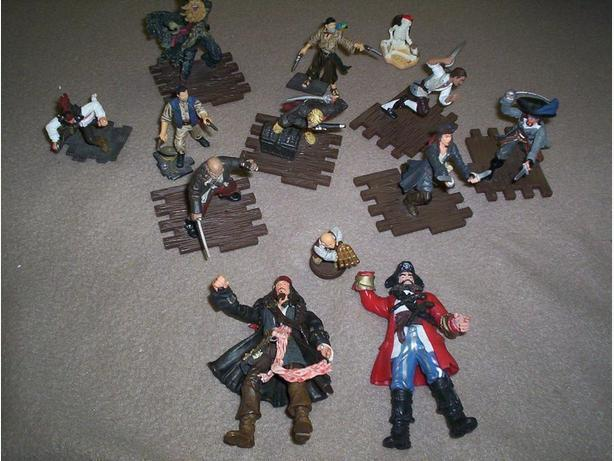 Set of Pirate Men