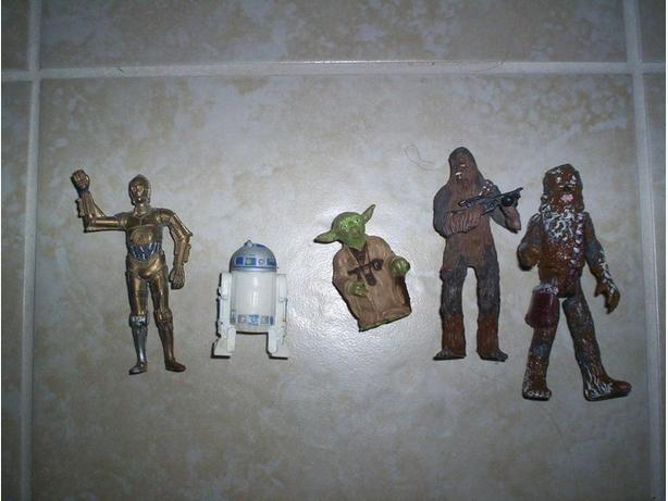 5 Star Wars 3 inch Figures