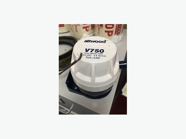 Attwood V750 bilge pump motor