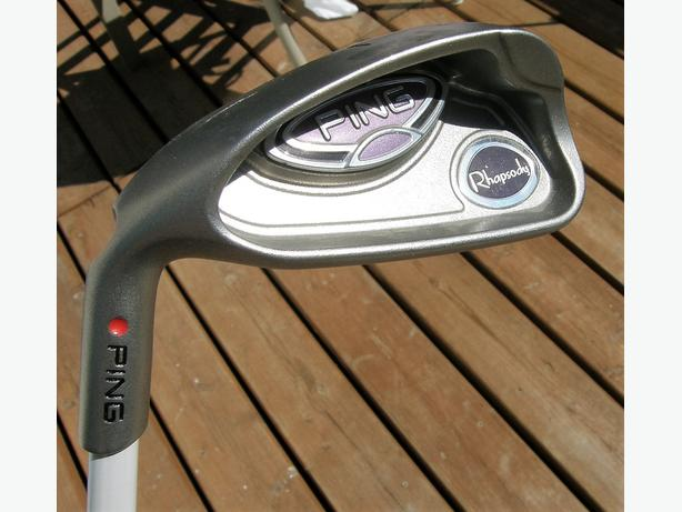 Ladies PING Rhapsody Left Hand #7 Iron Golf Club LH VGC