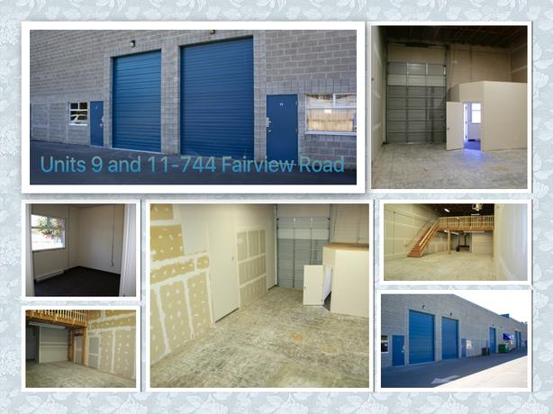 FOR LEASE: Spacious Warehouse Unit in Esquimalt Industrial Park