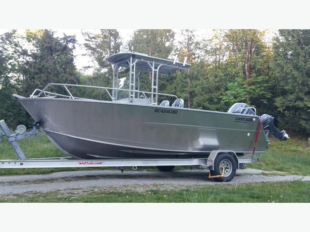2014 Lifetimer 20.5 foot Offshore Aluminum Boat