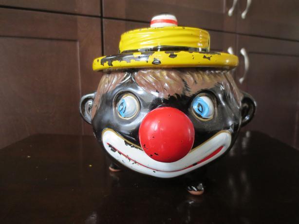 Vintage black americana clown
