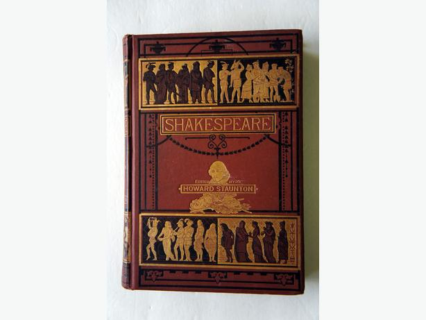 Pearson's Shakespeare; Edited by Howard Staunton circa 1895