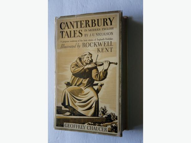 CANTERBURY TALES: Rendered into Modern English by J.U. Nicolson