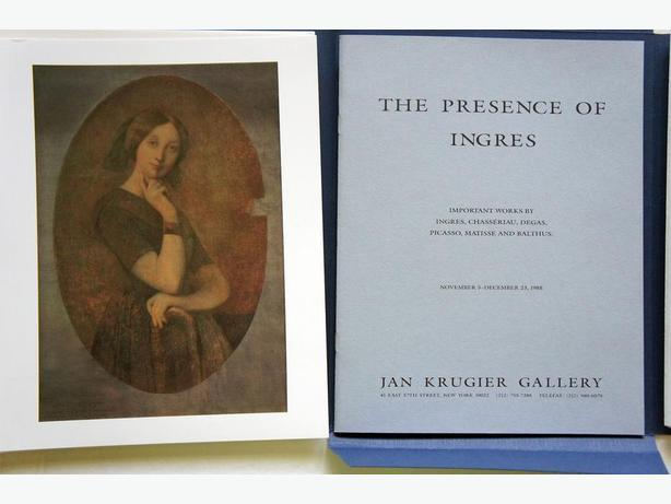 The Presence of Ingres: Important Works by Ingres, Degas, Picasso
