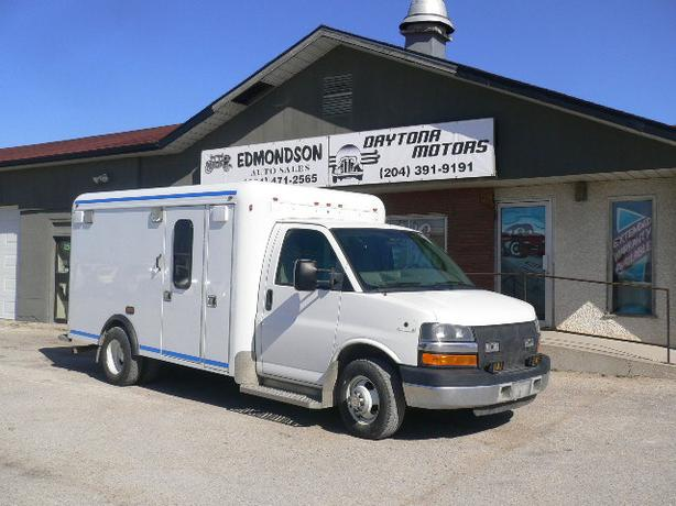 2009 E350 Cutaway Ambulance Conversion by Crestline Coach