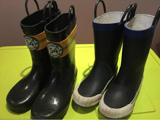 Gymboree and LandsEnd Toddler Rain Boots