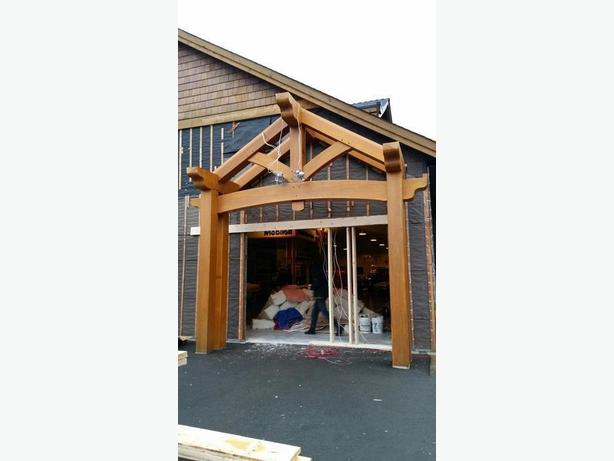 PRICE REDUCED - Cedar Timber Frame Structure