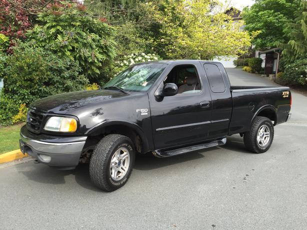 2002 ford f 150 xtr 4x4 outside cowichan valley cowichan. Black Bedroom Furniture Sets. Home Design Ideas