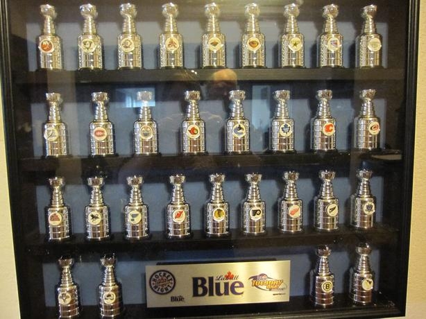 Very Rare!! Labatt's Mini Stanley Cup Collection. Mint Condition!