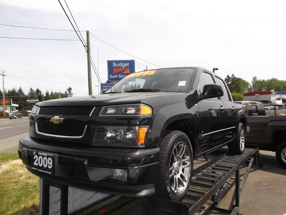 2009 chevy colorado crew v8 for sale outside nanaimo nanaimo mobile. Black Bedroom Furniture Sets. Home Design Ideas