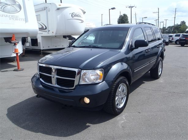 2008 dodge durango slt 3rd row seating 4wd outside nanaimo parksville qualicum beach. Black Bedroom Furniture Sets. Home Design Ideas