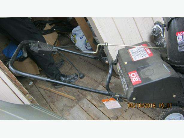 "MURRAY 20"" ELECTRIC SNOW BLOWER (LADYSMITH)"