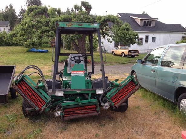 Ransomes 305  Reel Mower