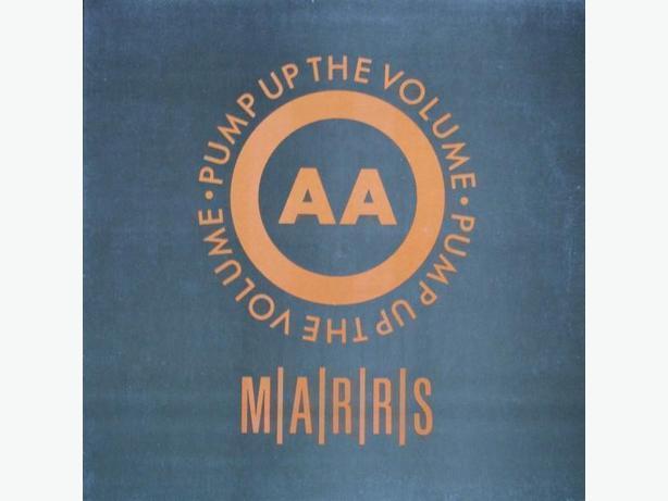 Marrs - Pump Up The Volume (LP)