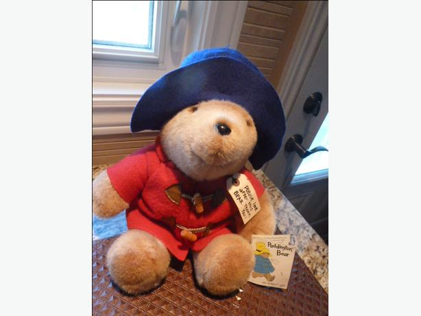 "16"" Paddington Bear with tags by eden"