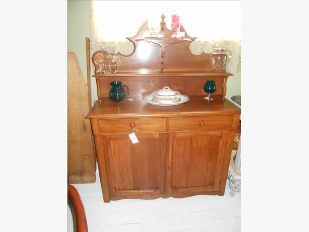 1860s pine sideboard antique