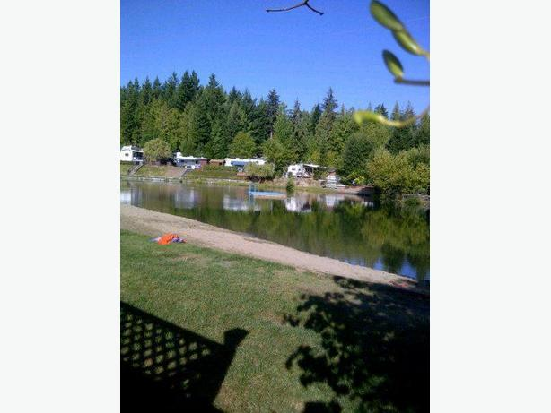 BEACHFRONT Property in Spider Lake Springs RV Resort.