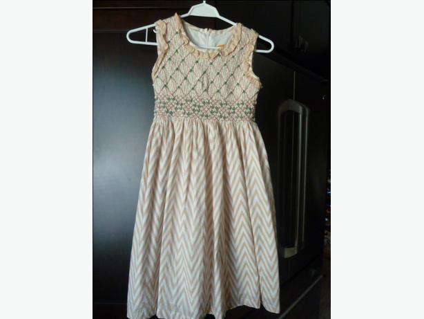 Beautiful Girls size 10 Cotton smocked summer dress