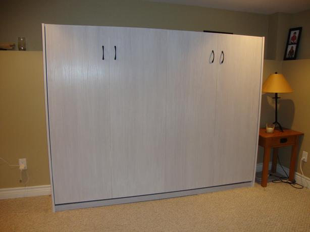 Murphy Bed -  Side - Mount Queen