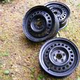 "Three 14"" Chrysler/Dodge Steel Rims $30 for all three"