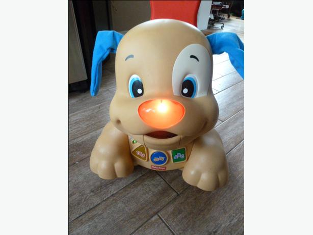 Fisher-Price - Laugh & Learn - Stride-to-Ride Puppy - English Edition