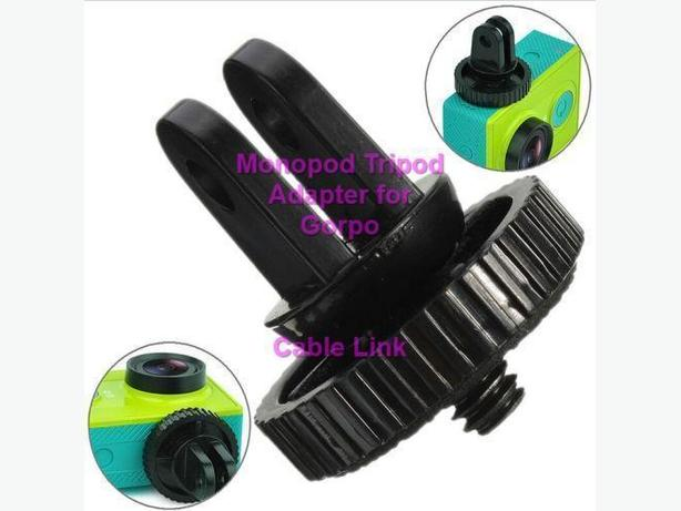 """1/4"""" Monopod Tripod Mount Adapter with Screw Thread For GoPro"""