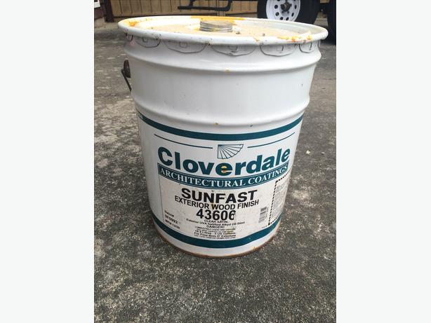 Cloverdale Sunfast Clear Satin Stain