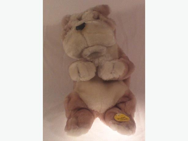 Animated dancing plush dog