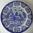 Delft Blue sandwich plates