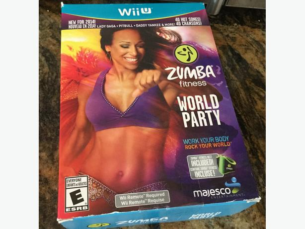 Zumba Fitness World Party Wii U