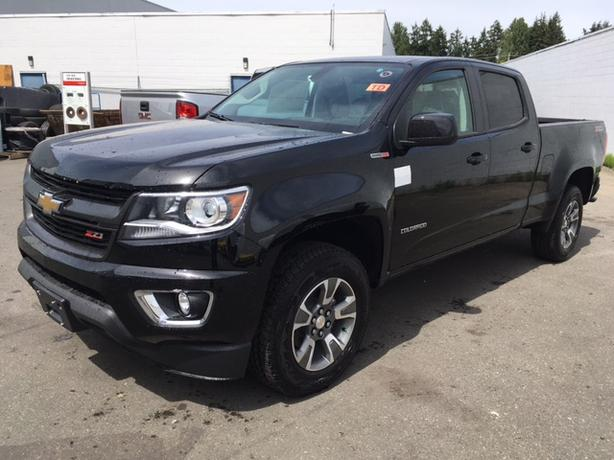 new chevrolet colorado z71 duramax diesel crew cab 4x4 outside cowichan valley cowichan. Black Bedroom Furniture Sets. Home Design Ideas