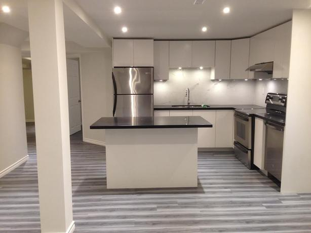 Charming Newly Renovated, Very Spacious 2 Bedroom Basement Apartment In Mississauga.