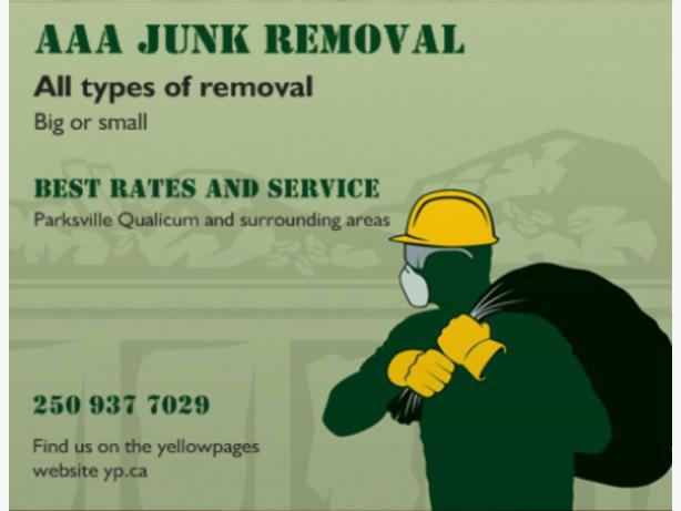 Junk Removal Parksville and Qualicum